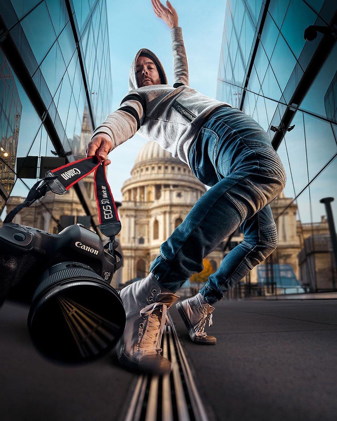 Британский фотограф Марк МакГи - мастер динамичных фотосессий