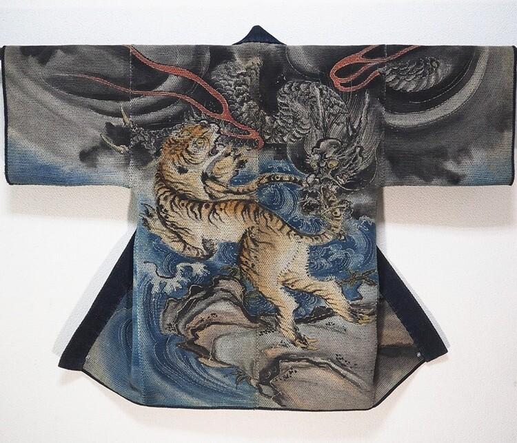 Форма японских пожарных 17-19 веков как отдельный вид искусства