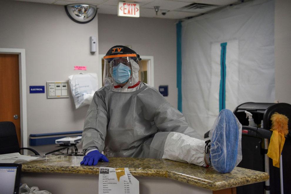Как выглядит американский ковидный госпиталь в штате Техас