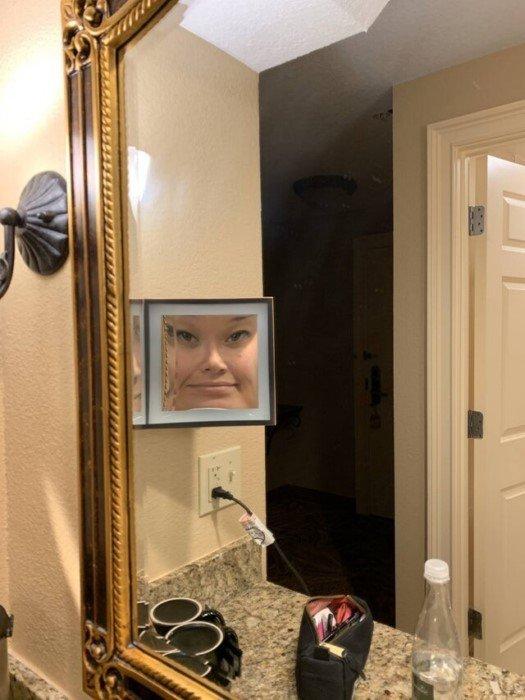 Забавные снимки из серии Кривое зеркало