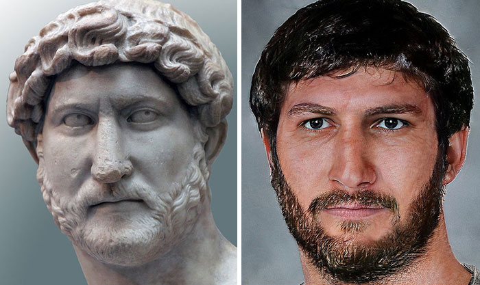 Лица великих римских императоров восстановили с помощью нейросетей