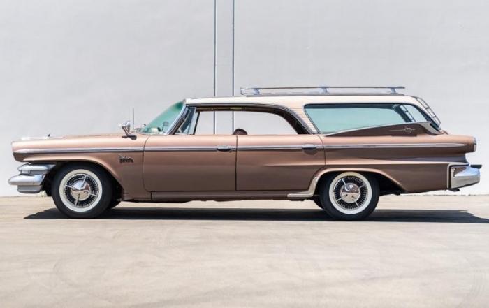 Dodge Polara Station Wagon 1960 года - таких универсалов было пять