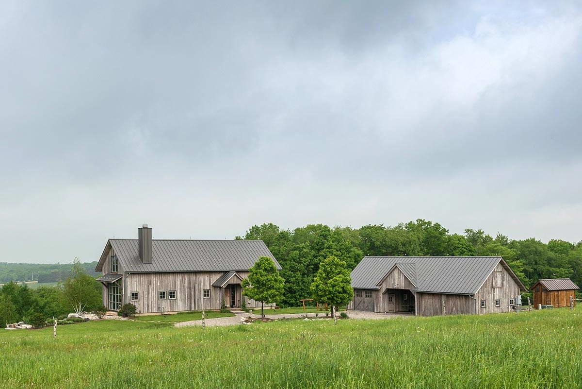 Сельский дом в штате Нью-Йорк
