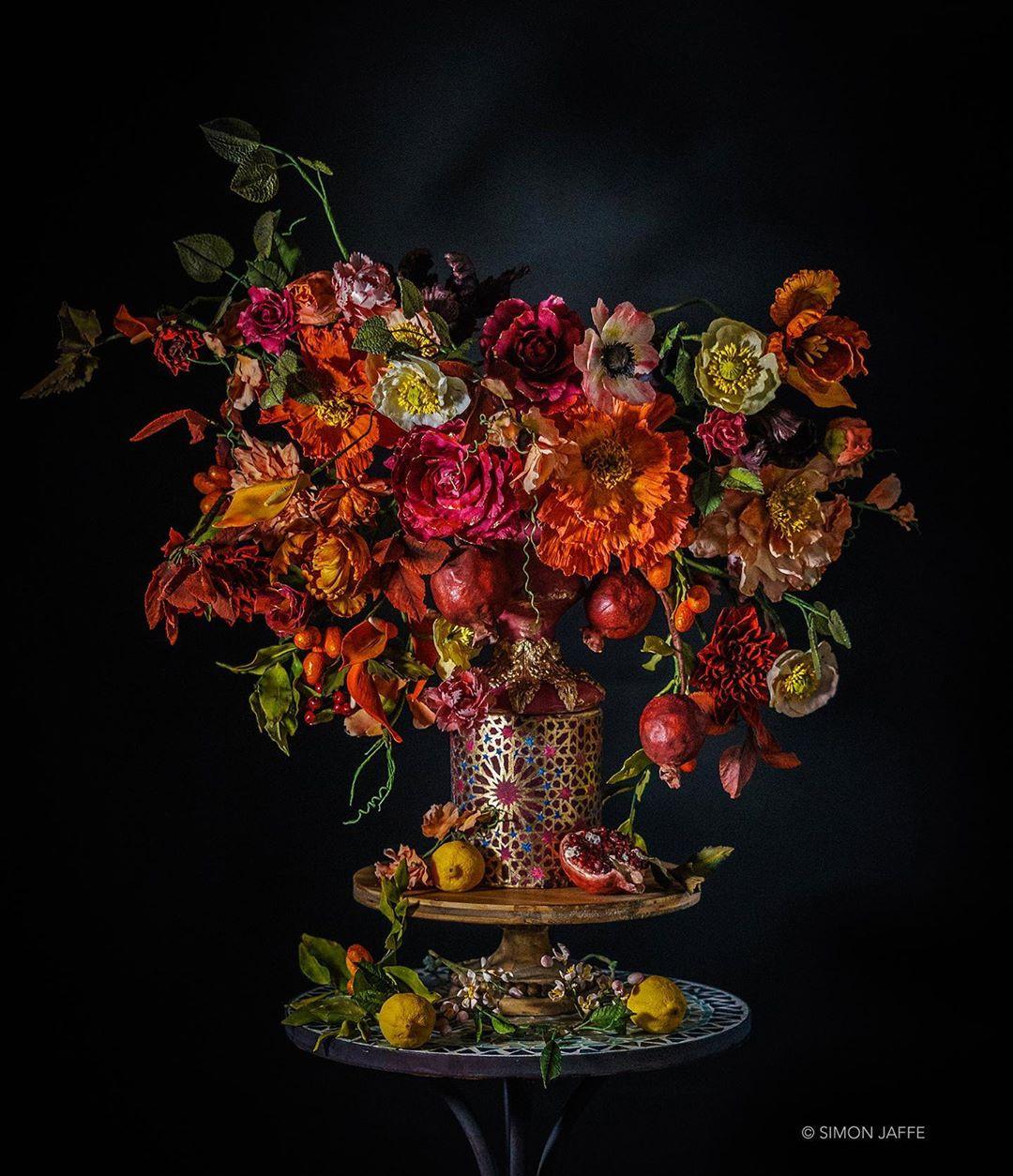 Удивительные цветочные торты от Джули Саймон