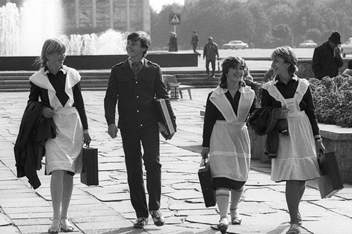 Что запрещали школьникам во времена СССР