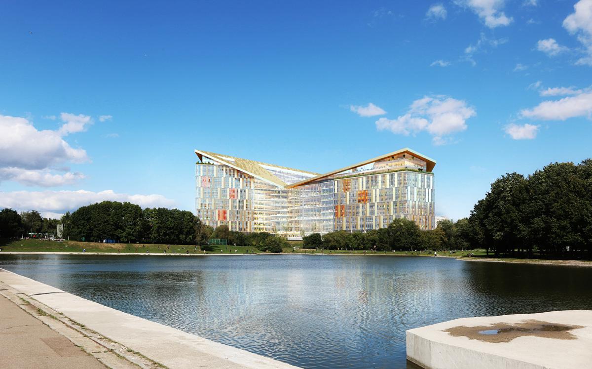 Яндекс представил проект своего нового офиса