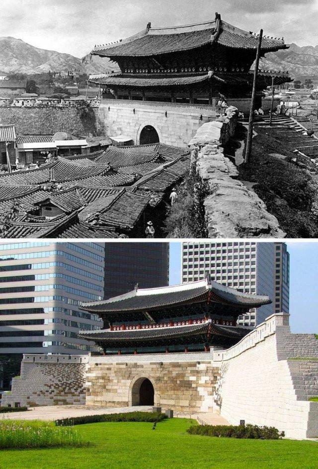 Как с течением времени изменились места в мире