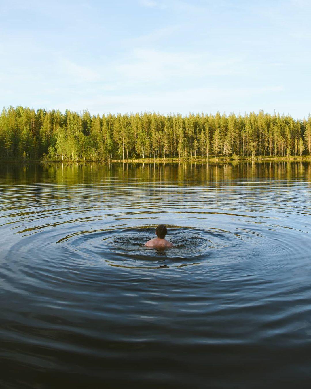 Красоты природы Лапландии на снимках Санни Виеряли