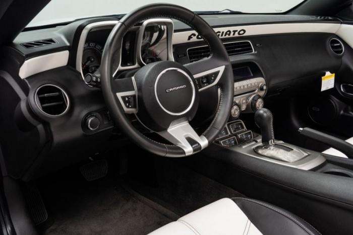 Тюнингованный Chevy Camaro с огромными колесами Forgiato
