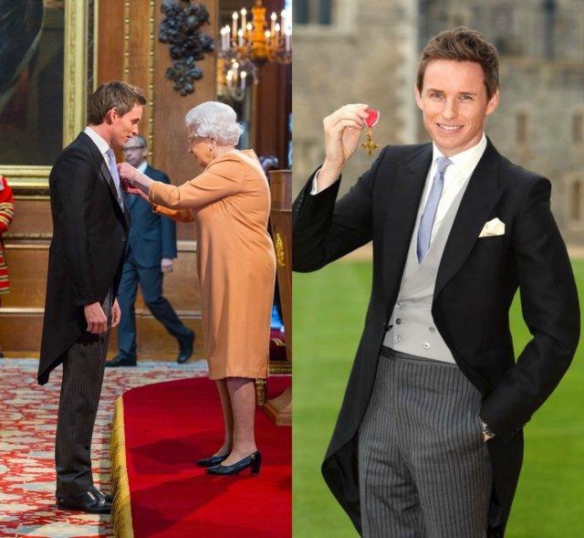 Английские кинозвезды - обладатели рыцарского Ордена Британской империи