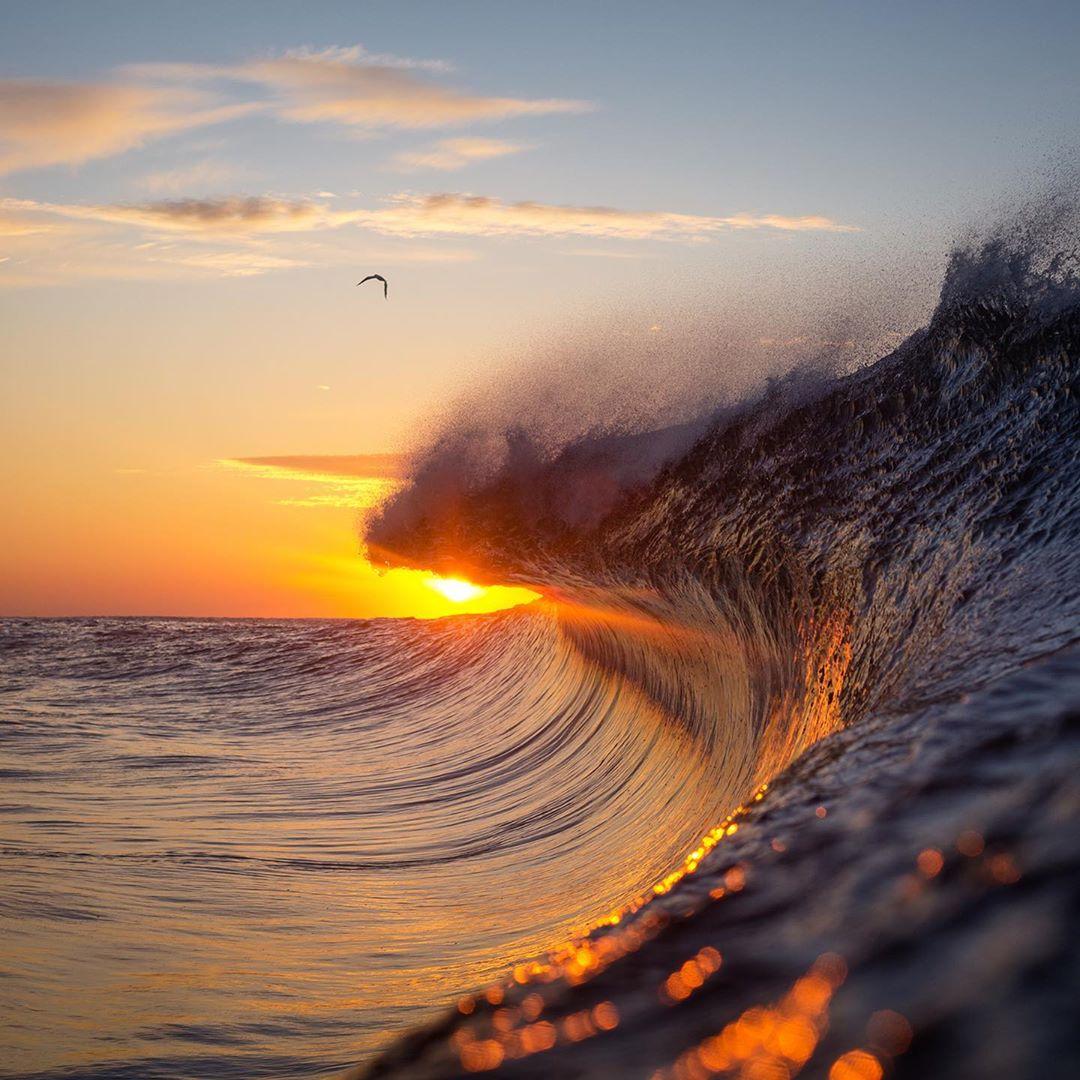 Красота волн на снимках Уоррена Килана