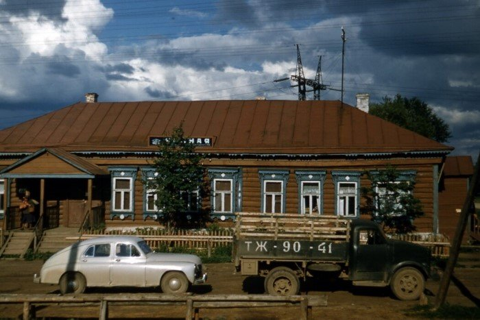 Жизнь простых советских людей в конце 1950-х от Томаса Хаммонда