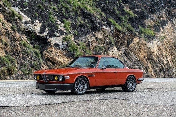 Отреставрированный и доработанный BMW 3.0 CS для Роберта Дауни-младшего