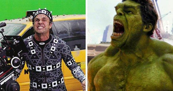 Актеры фантастических фильмов до и после своих превращений