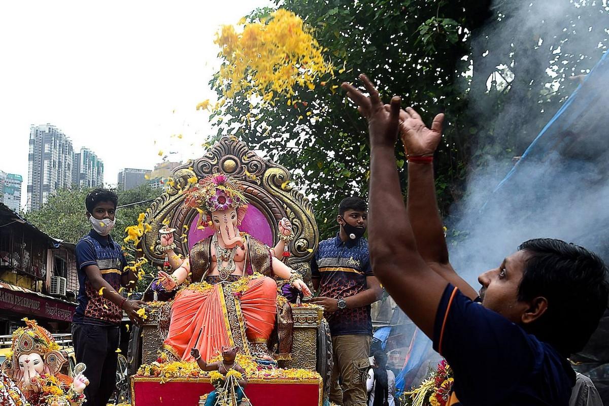 Фестиваль Ганеши Чатуртхи в Индии