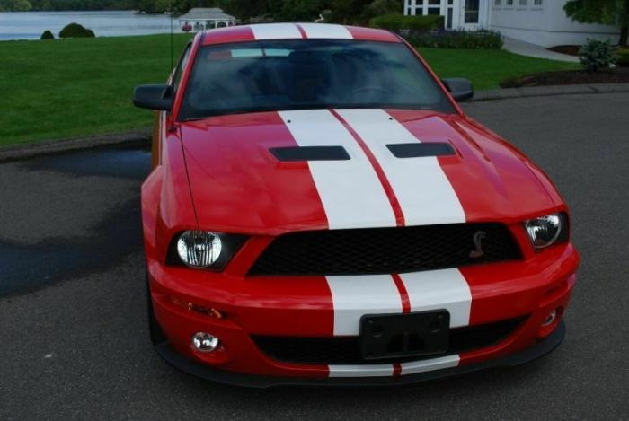 Ford Mustang Shelby GT500 из фильма Я легенда