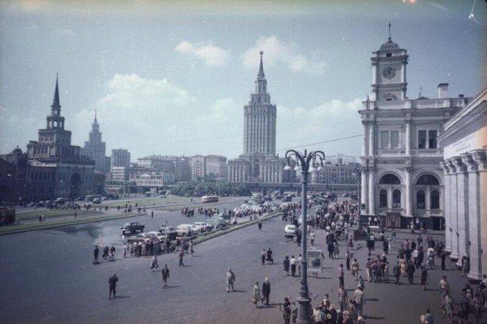 Ностальгические снимки лета в советской Москве