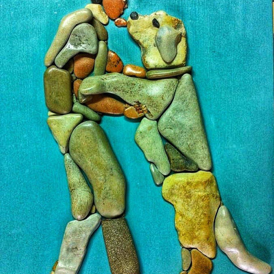 Замечательные картины из камней от Стефано Фурлани