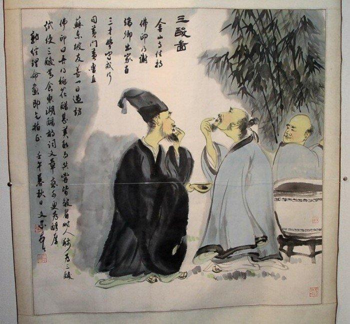 Зачем китайцы пробуют уксус из кувшина?
