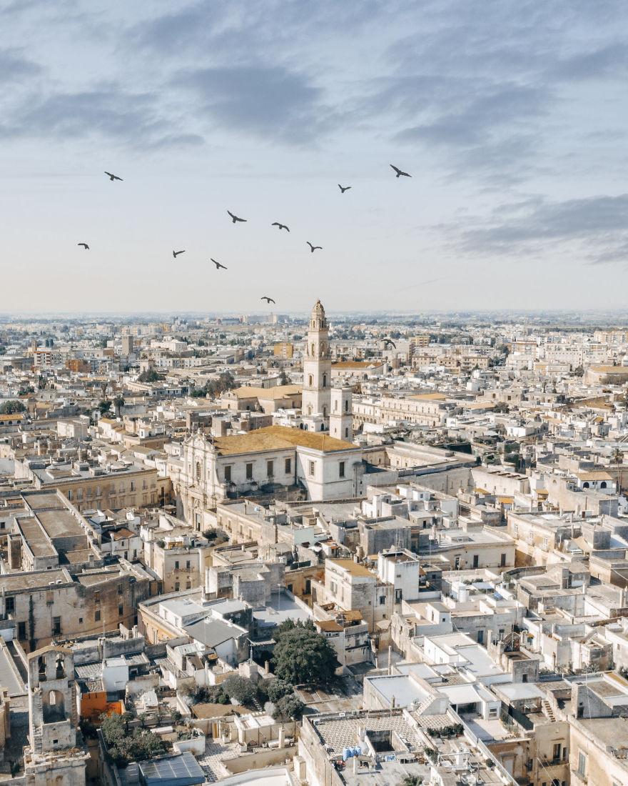 Красота Италии с высоты птичьего полёта от Элеоноры Кости