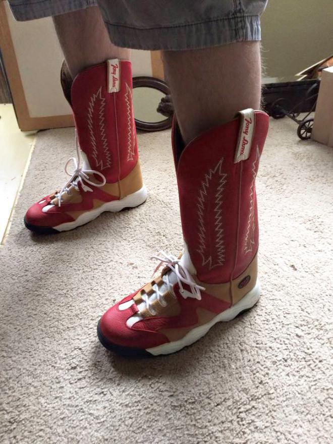 Кроссовки для ковбоев и ковбойские сапоги-ботинки