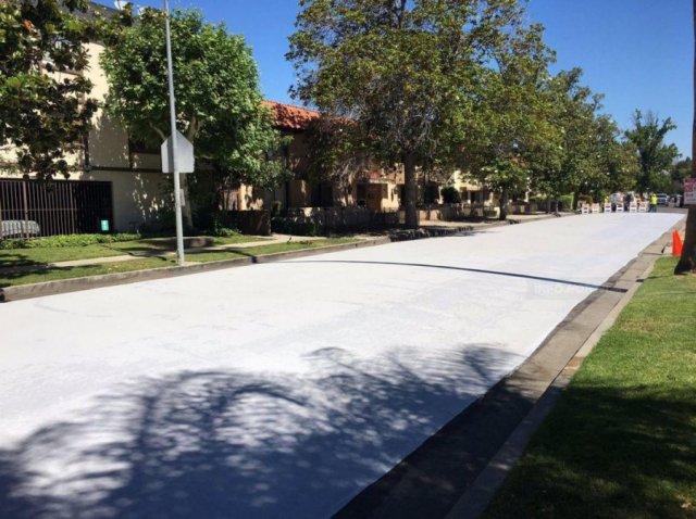 Почему в Лос-Анджелесе красят асфальт в белый цвет?