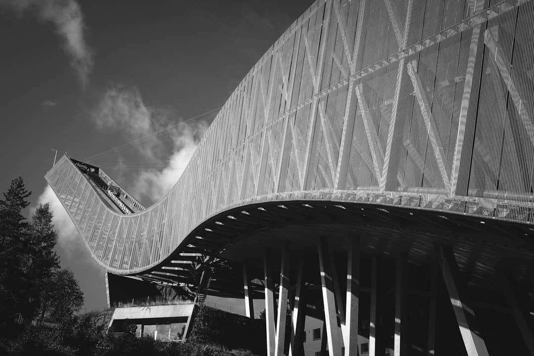 Чёрно-белые архитектурные фотографии от Алессио Форлано