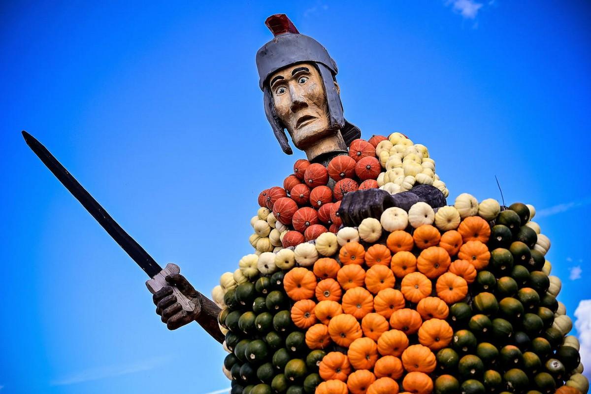 Ежегодный фестиваль тыкв в Германии