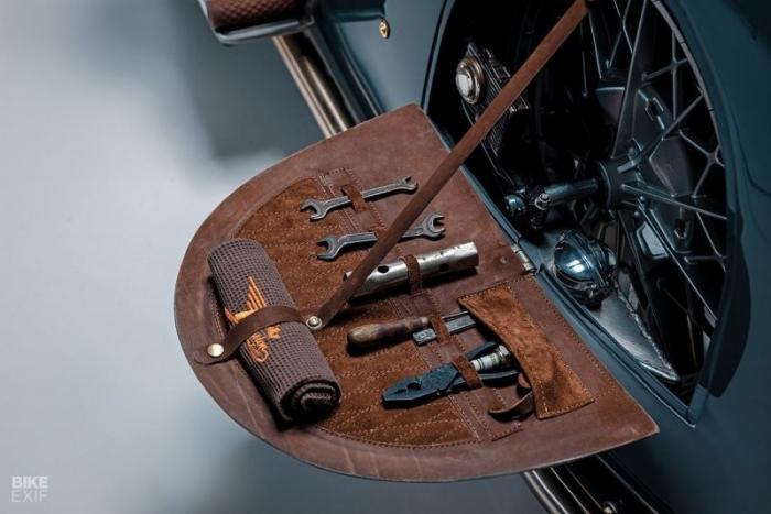 Мотоцикл BMW R100 Good Ghost — кастом в стиле стимпанк с отделением для вина