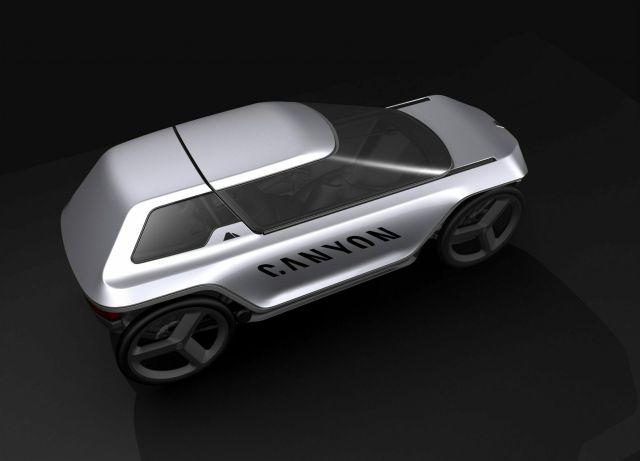 Немецкая компания Canyon показала концепт велосипеда будущего
