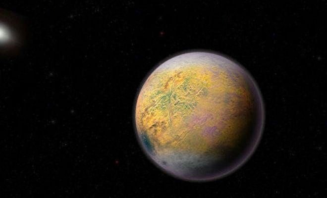 Невидимое небесное тело в Солнечной системе