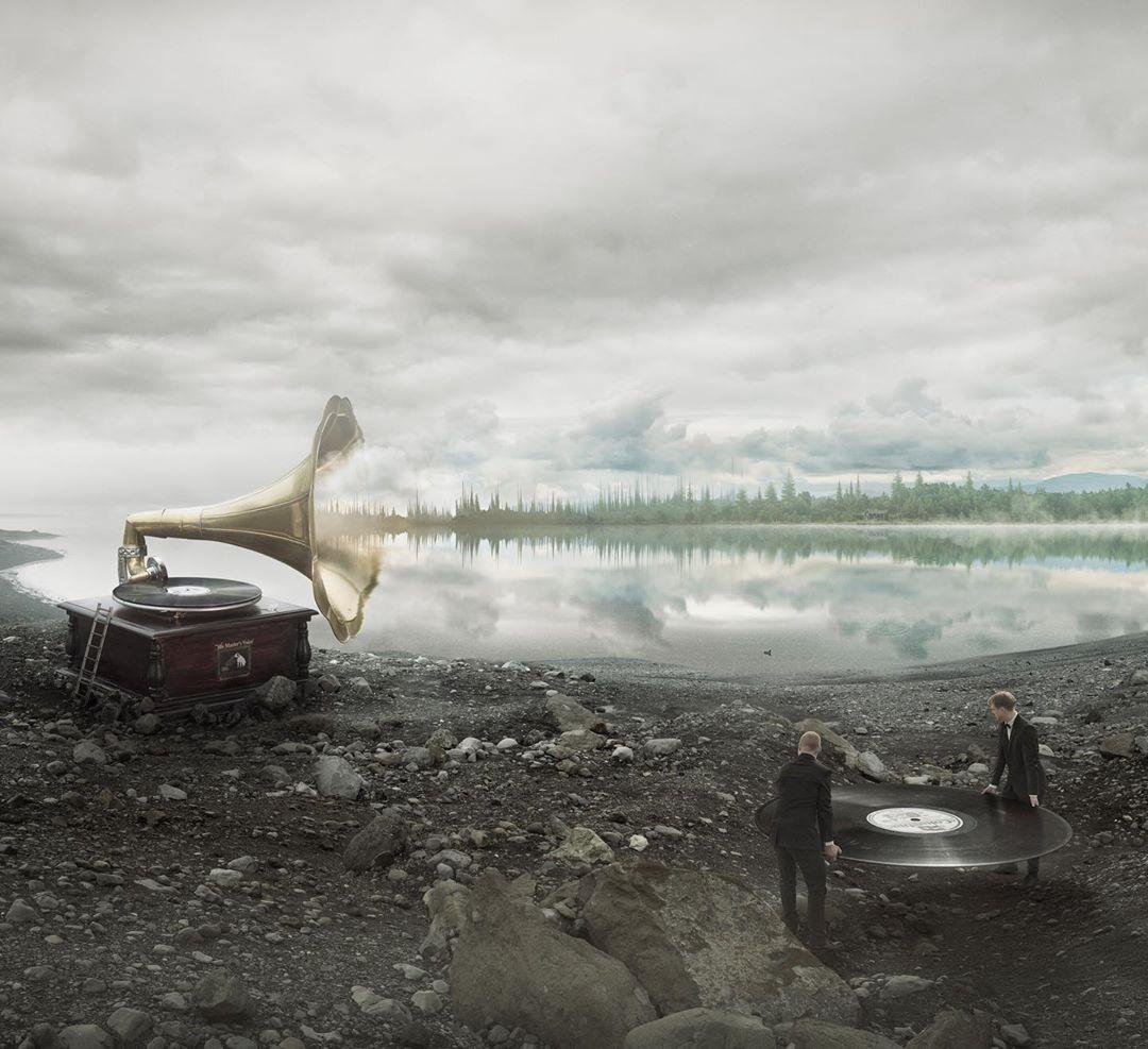 Фотосюрреализм в работах Эрика Йоханссона