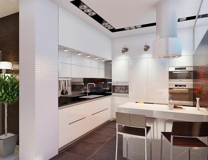Почему стоит выбрать именно белую кухню