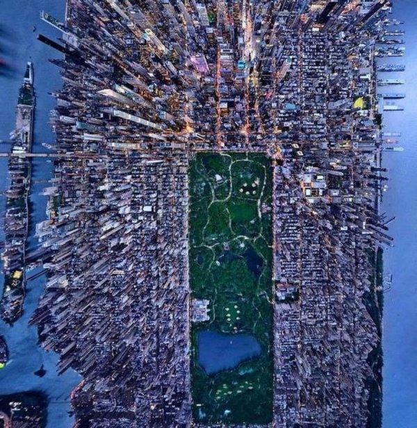 Завораживающие виды нашей планеты из окна самолета