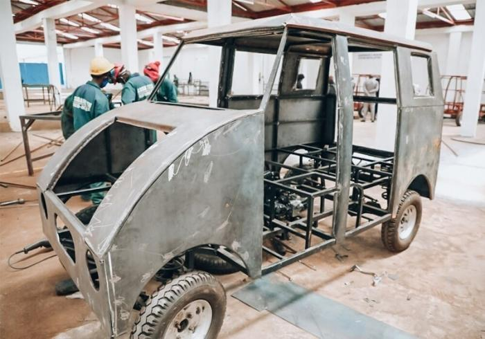 В Кении представили авто собственной разработки