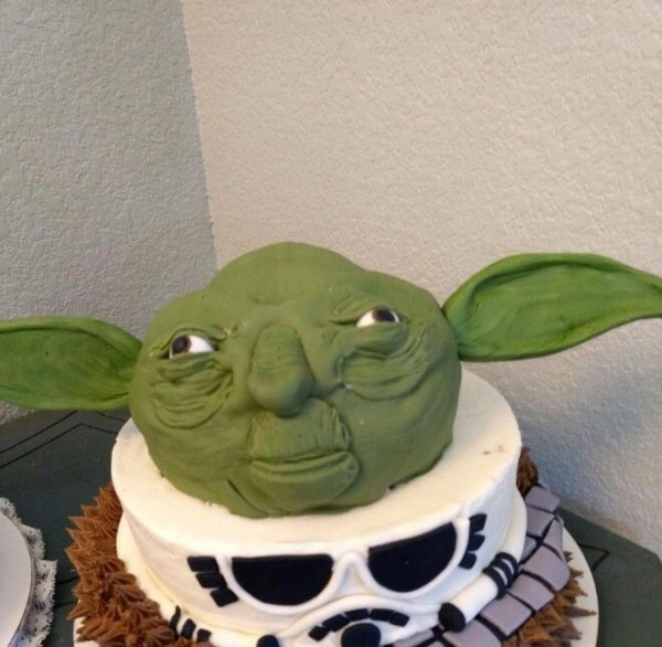 Весёлые тортики, которые могут напугать до икоты