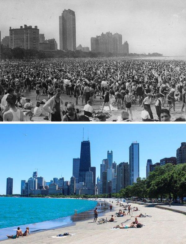 Красноречивые снимки о том, как быстро меняется наш мир