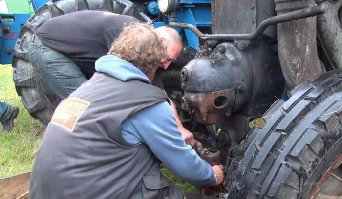 Lanz Bulldog – трактор-тягач с нефтяным мотором
