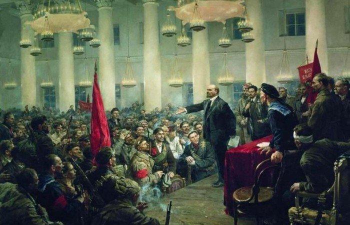 Почему произошла Октябрьская революция?