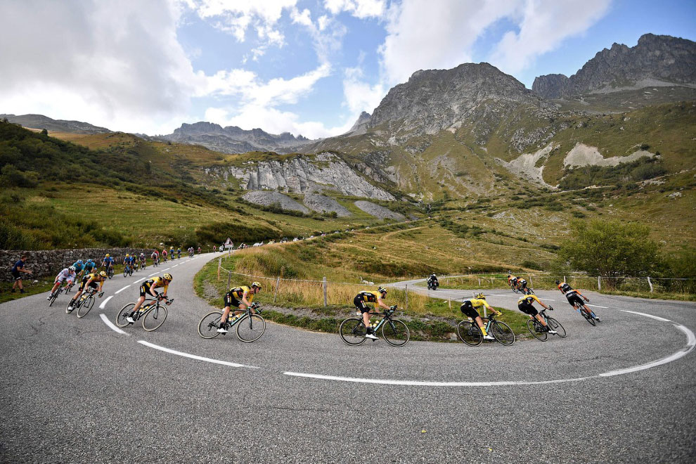 Тур де Франс 2020 на снимках