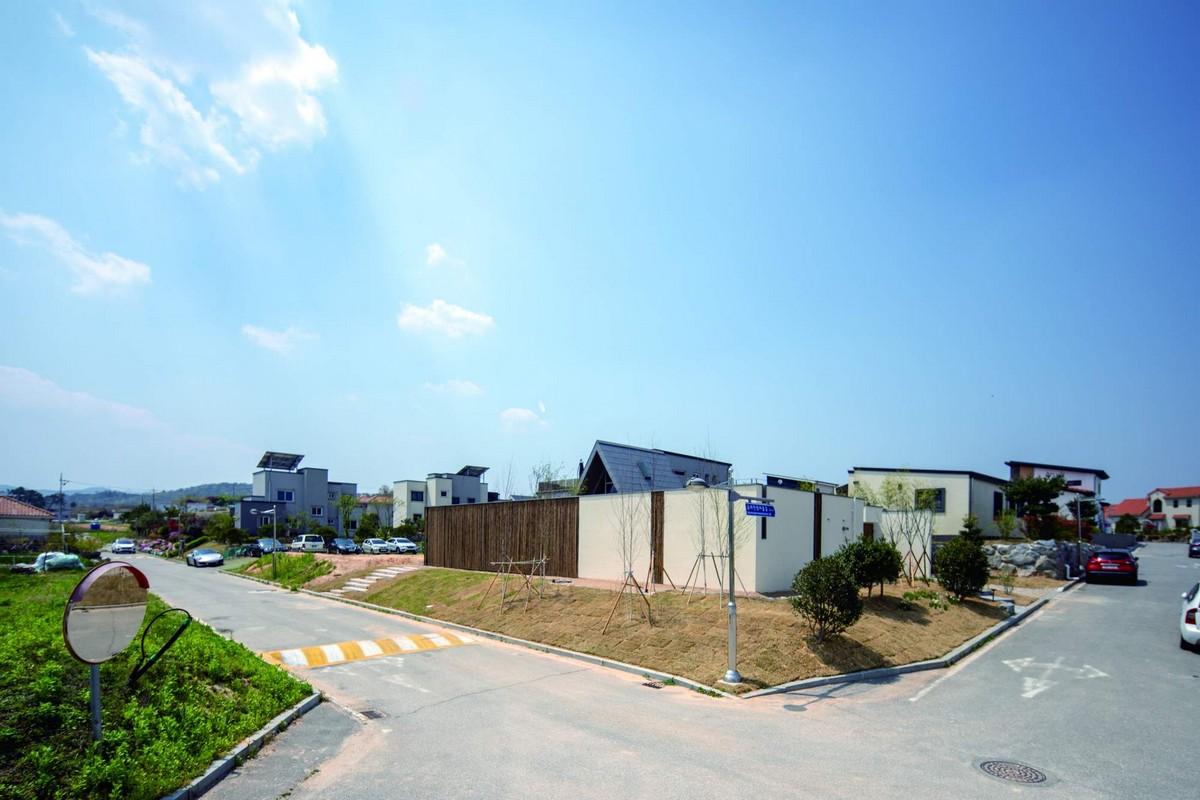 Современный семейный дом в Южной Корее Картинки и фото