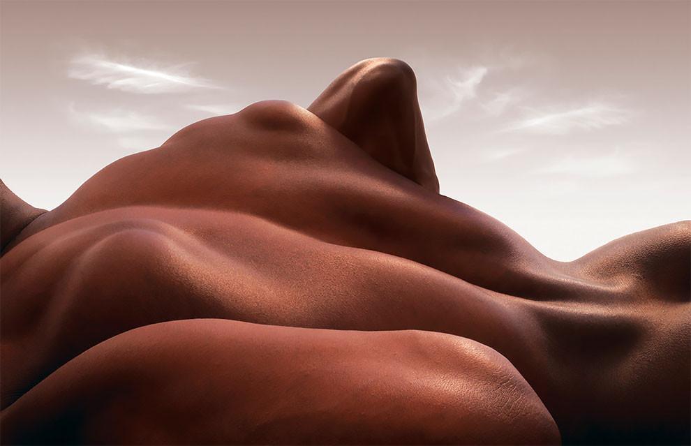 Необычные телесные ландшафты от Карла Вагнера