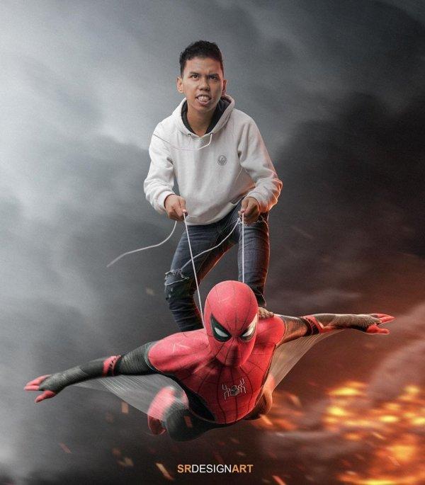 Сейрил Рамадан - настоящий мастер фотошопа из Индонезии
