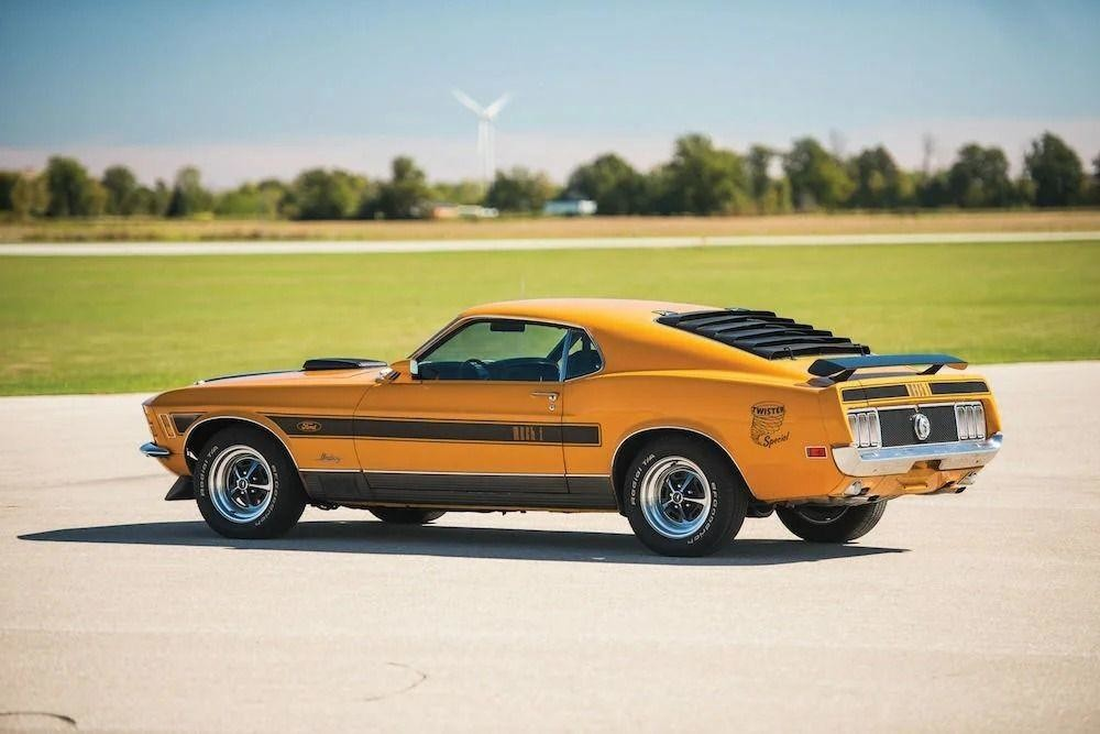 Ford Mustang Mach 1 Twister Special 1970