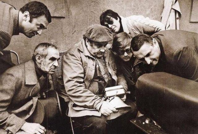 Редкие закадровые снимки со съёмочных площадок советских фильмов