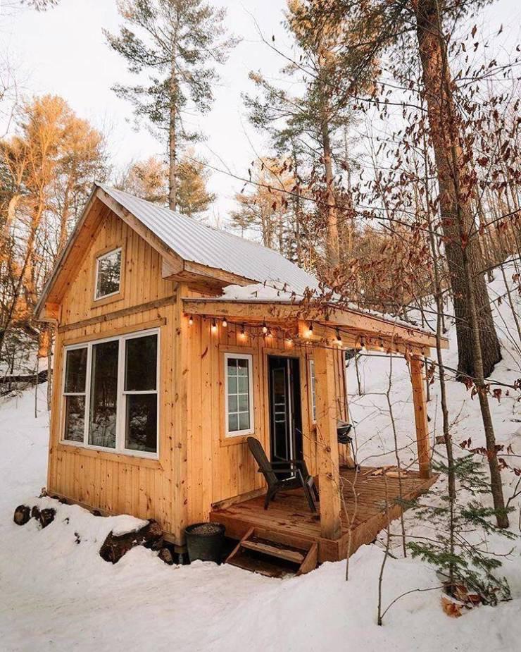 Разные уютные места, в которых хочется оказаться