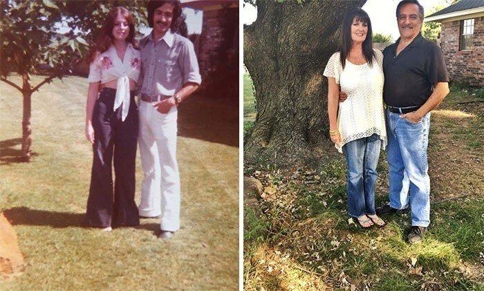 Люди идеально воссоздали старые семейные фотографии