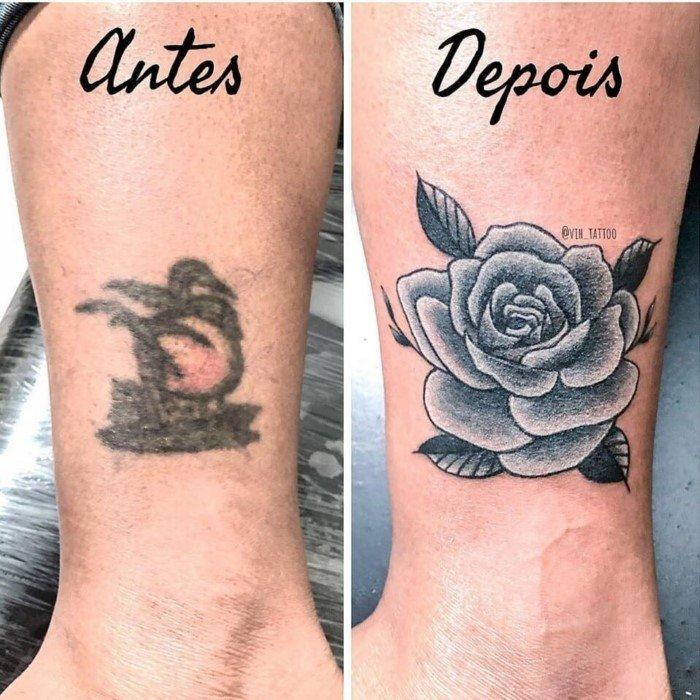 Новая жизнь старых и неудачных татуировок