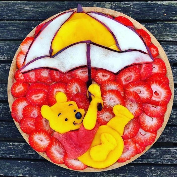 Здоровая пища для детей, превращённая в кулинарное искусство