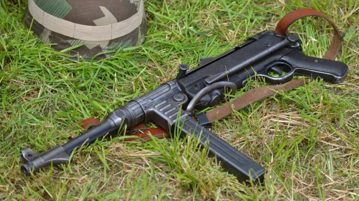 Снайперский пулемет парашютистов вермахта
